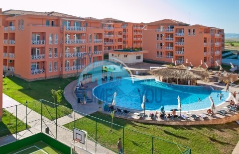 Дешевая двухкомнатная квартира в комплексе Санни Дэй 6, Солнечный берег