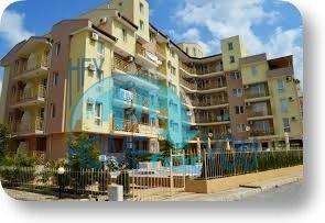Двухкомнатная квартира  в комплексе Даймънд Скай на Солнечном берегу