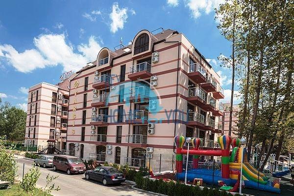 Двухкомнатная квартира на курорте Солнечный берег - недорого