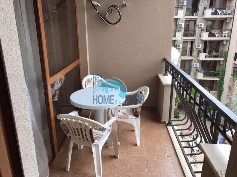 Двухкомнатная квартира на продажу в комплексе Каскадас, Солнечный Берег 10