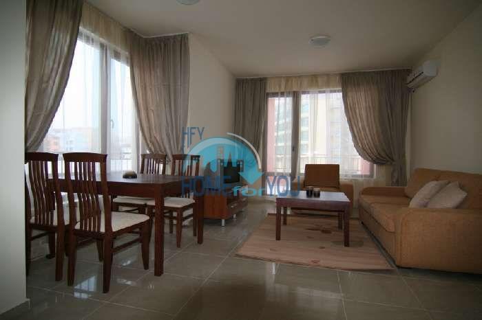 Двухкомнатная квартира недорого на курорте Солнечный берег