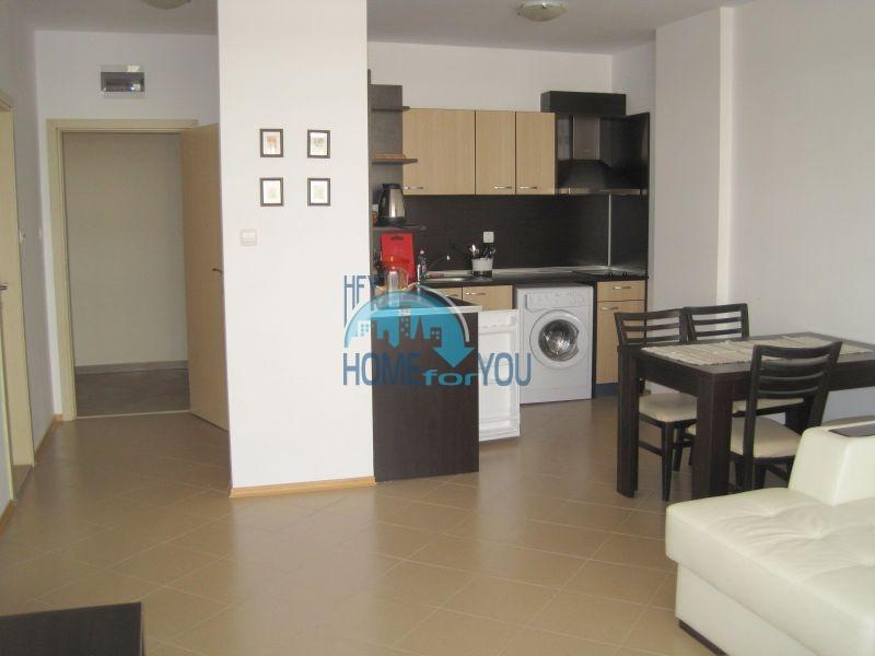 Двухкомнатная квартира по доступной цене на курорте Солнечный берег  9