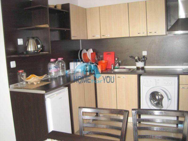 Двухкомнатная квартира по доступной цене на курорте Солнечный берег  10