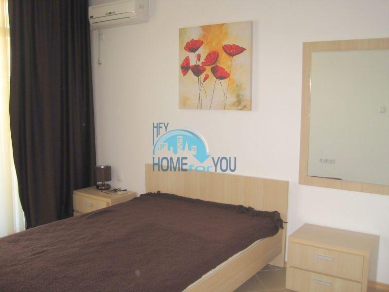 Двухкомнатная квартира по доступной цене на курорте Солнечный берег  12