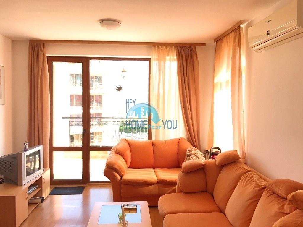 Уютная двухкомнатная квартира на курорте Солнечный берег