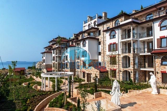 Двухкомнатная квартира с панорамным видом на море в комплексе Артур, Святой Влас