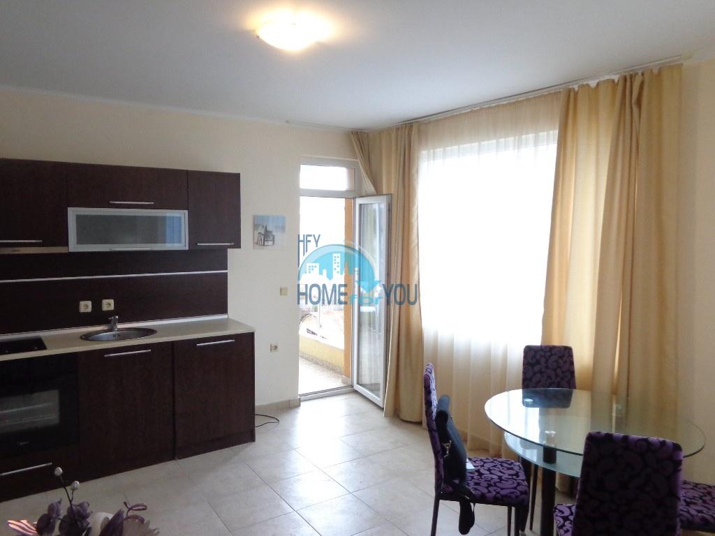 Двухкомнатная квартира в центре курорта Солнечный берег - недорого