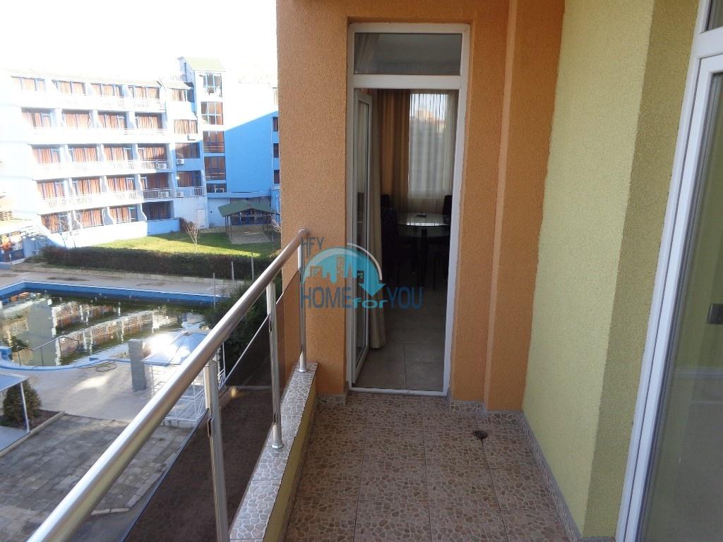 Двухкомнатная квартира в центре курорта Солнечный берег - недорого 15