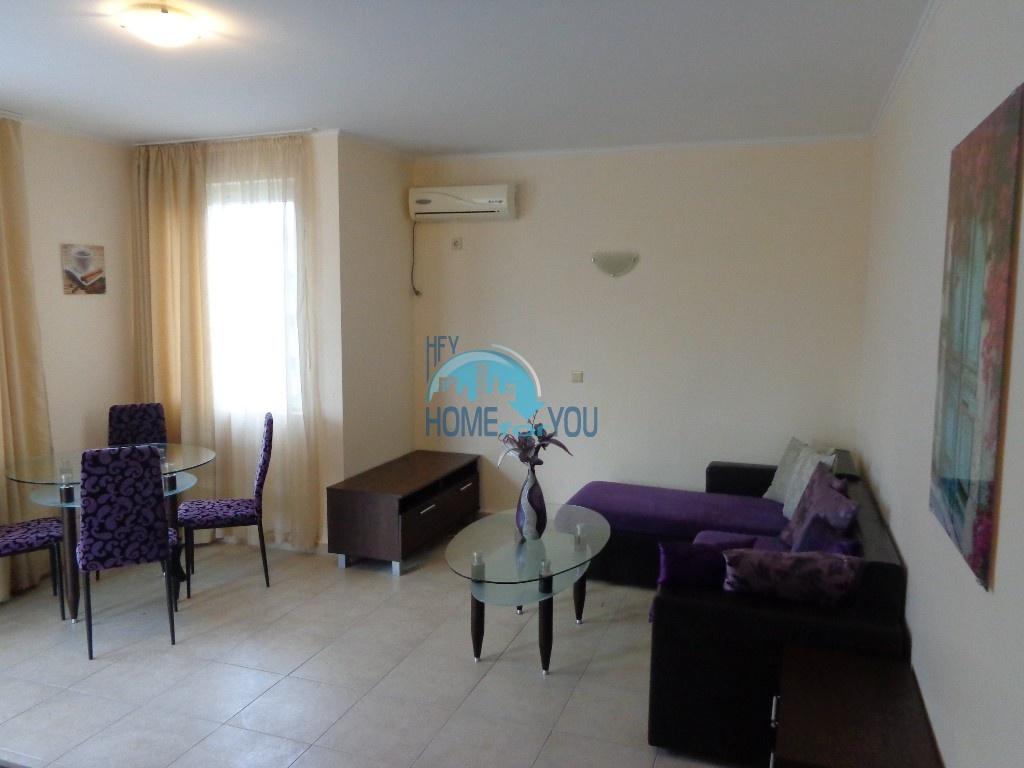Двухкомнатная квартира в центре курорта Солнечный берег - недорого 7