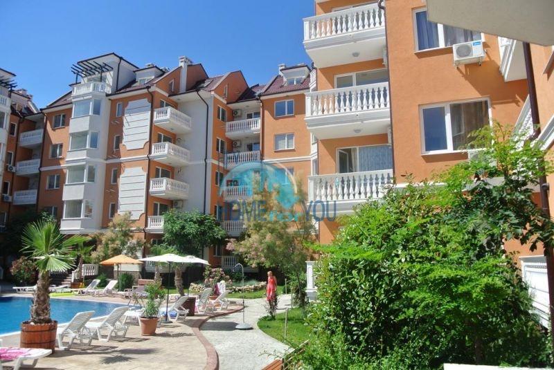 Двухкомнатная квартира в элитном комплексе на курорте Солнечный берег 2