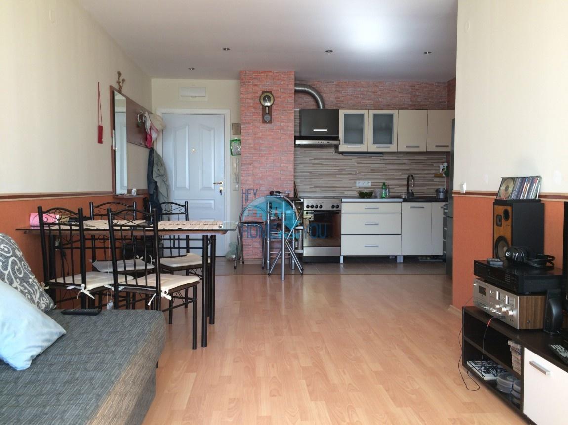 Двухкомнатная квартира в комплексе Несебр Форт Нокс, Солнечный Берег