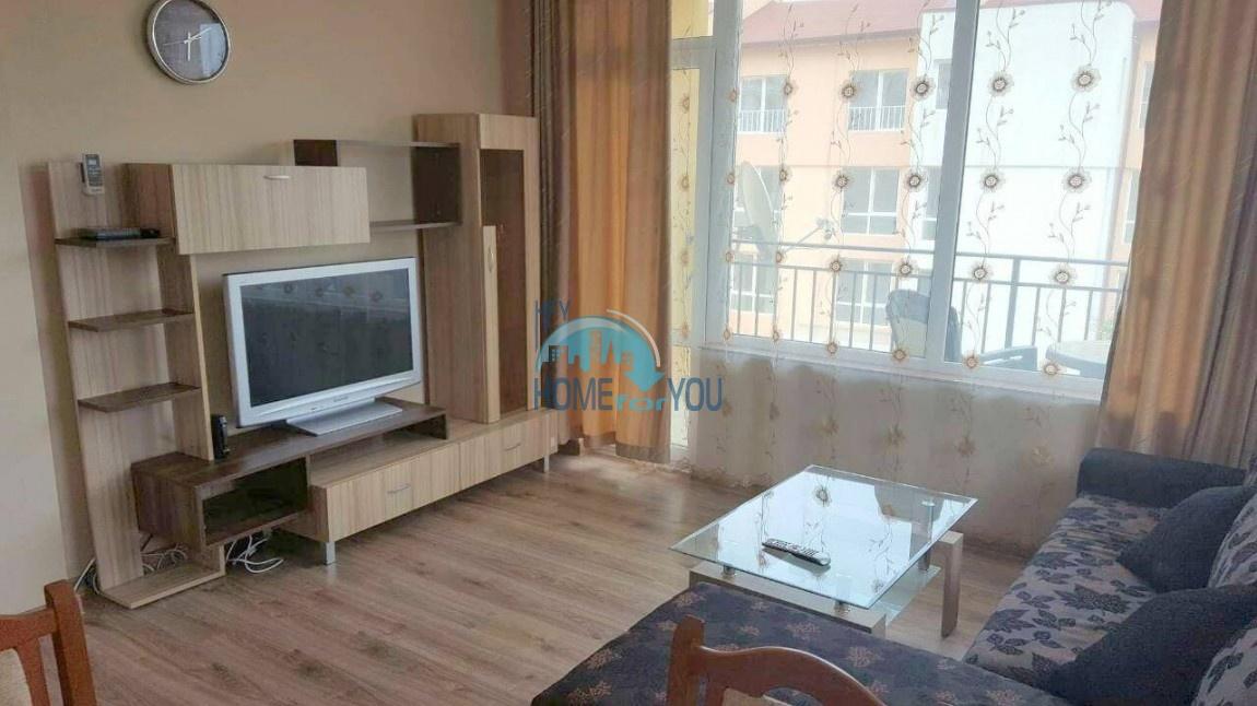 Двухкомнатная меблированная квартира в комплексе Гермес - самая низкая цена в курорте Солнечный берег! 9