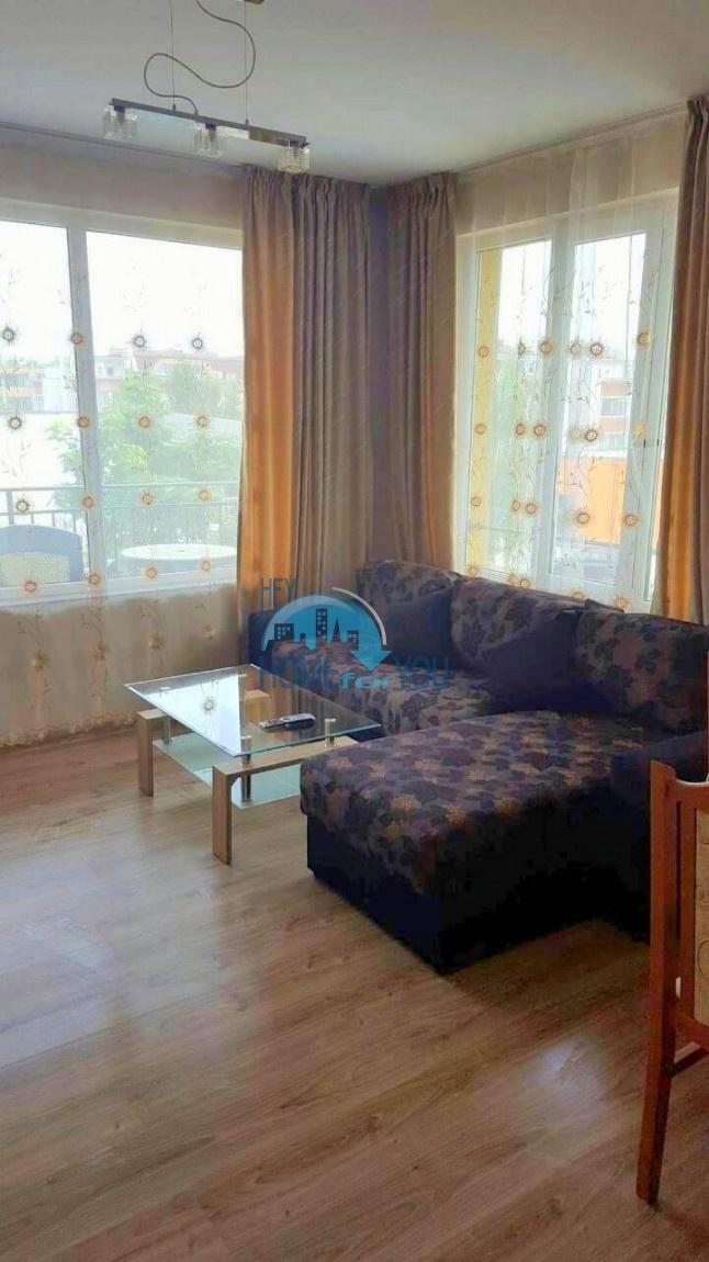 Двухкомнатная меблированная квартира в комплексе Гермес - самая низкая цена в курорте Солнечный берег! 11