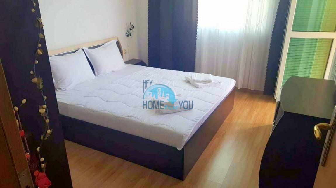 Двухкомнатная меблированная квартира в комплексе Гермес - самая низкая цена в курорте Солнечный берег! 12