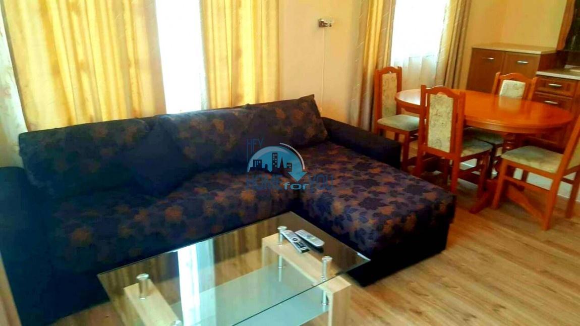 Двухкомнатная меблированная квартира в комплексе Гермес - самая низкая цена в курорте Солнечный берег! 13
