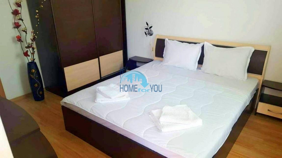 Двухкомнатная меблированная квартира в комплексе Гермес - самая низкая цена в курорте Солнечный берег! 14