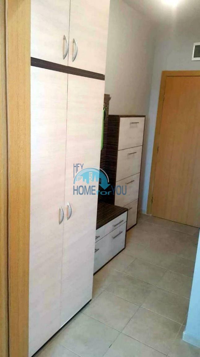 Двухкомнатная меблированная квартира в комплексе Гермес - самая низкая цена в курорте Солнечный берег! 16