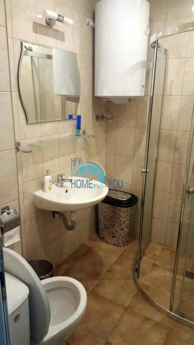 Двухкомнатная меблированная квартира в комплексе Гермес - самая низкая цена в курорте Солнечный берег! 19