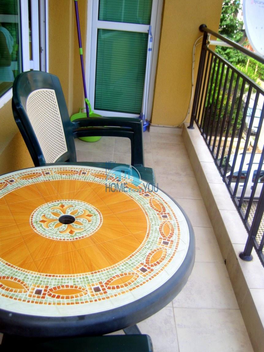 Двухкомнатная меблированная квартира в комплексе Гермес - самая низкая цена в курорте Солнечный берег! 20
