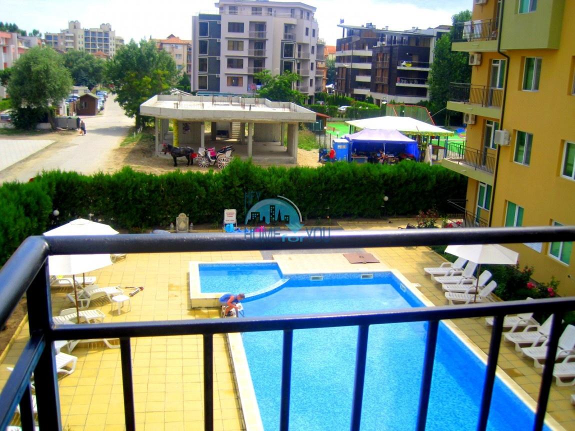 Двухкомнатная меблированная квартира в комплексе Гермес - самая низкая цена в курорте Солнечный берег! 21
