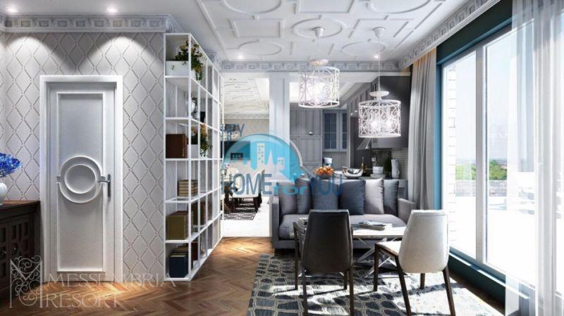 Элитная недвижимость Болгарии - пентхаус на курорте Солнечный берег 11