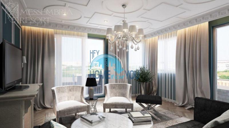 Элитная недвижимость Болгарии - пентхаус на курорте Солнечный берег 12