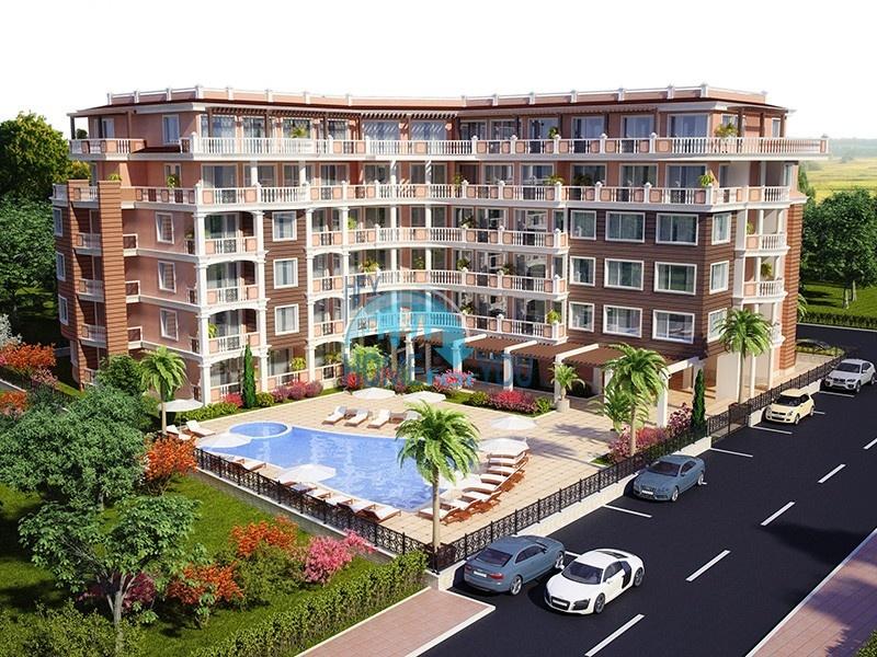 Просторі апартаменти за акційними цінами в облаштованому комплексі «Villa Aria», популярний курорт Сонячний Берег4244
