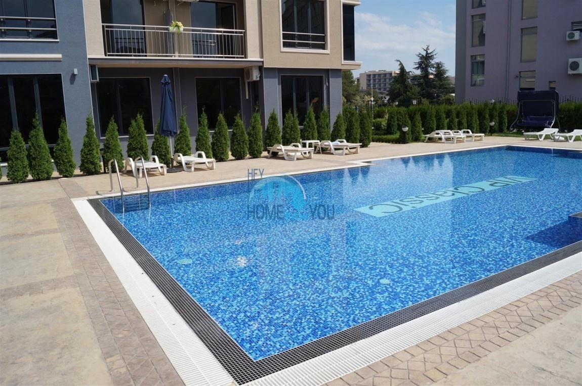 Просторные и светлые апартаменты на курорте Солнечный берег по доступным ценам, комплекс VIP CLASSIC 15
