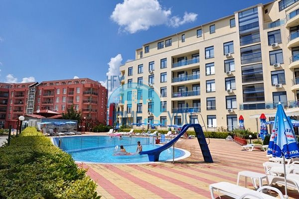 Двухкомнатная недорогая квартира на курорте Солнечный Берег