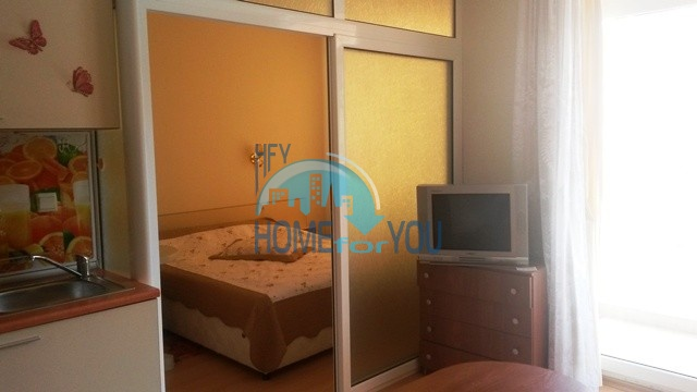 Маленькая двухкомнатная квартира в отеле Рейнбоу 2, Солнечный берег