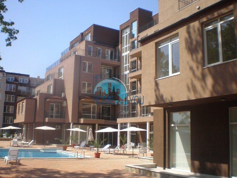 Меблированная двухкомнатная квартира в комплексе Святая София на курорте Солнечный берег