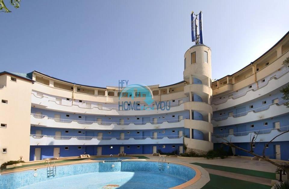 Меблированная двухкомнатная квартира в комплексе Атос, Солнечный берег