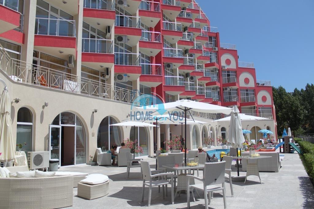 Меблированная двухкомнатная квартира в комплексе Роуз Гарден, Солнечный берег