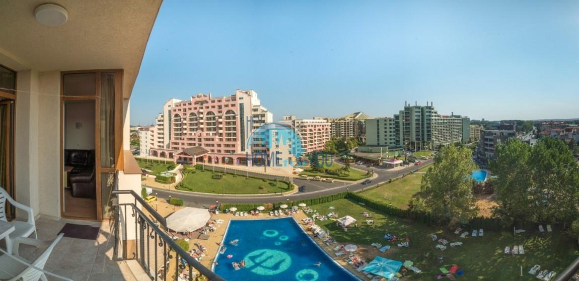 Меблированная квартира на второй линии на Солнечном берегу