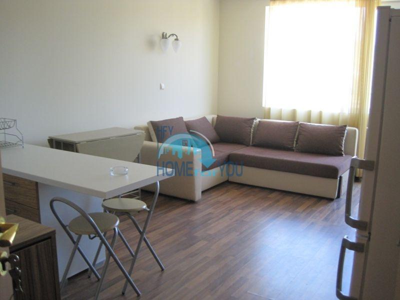 Меблированная уютная студия по выгодной цене в курорте Солнечный Берег