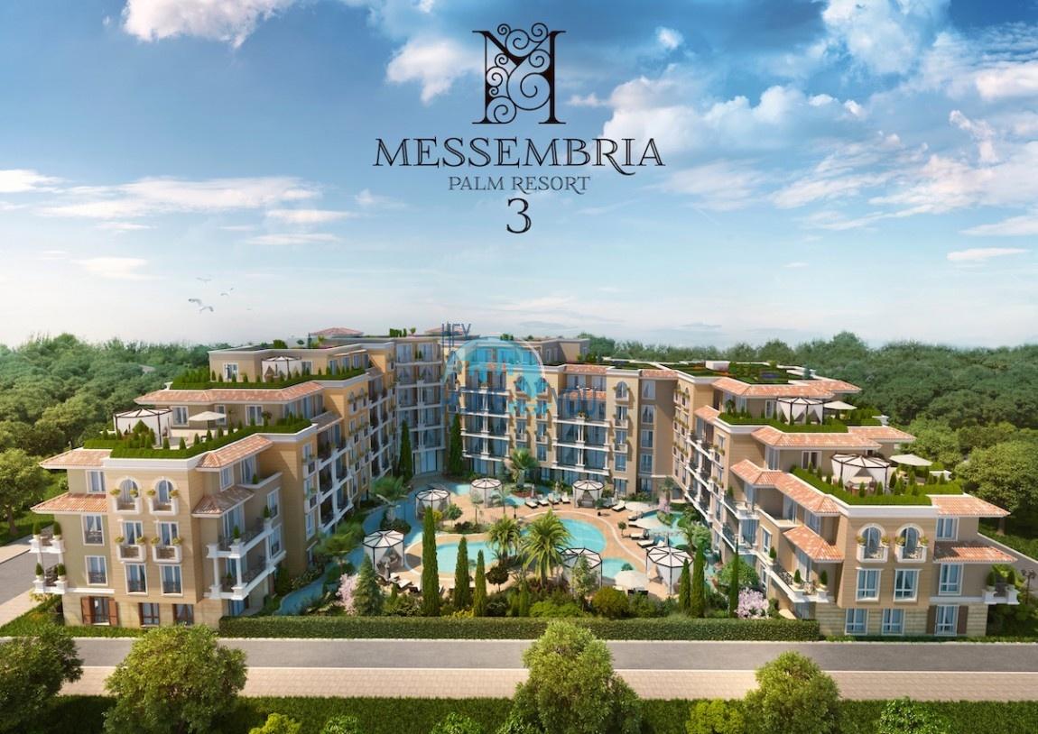 «Messembria Palm Resort 3» - новый обворожительный комплекс в излюбленном курорте Солнечный Берег