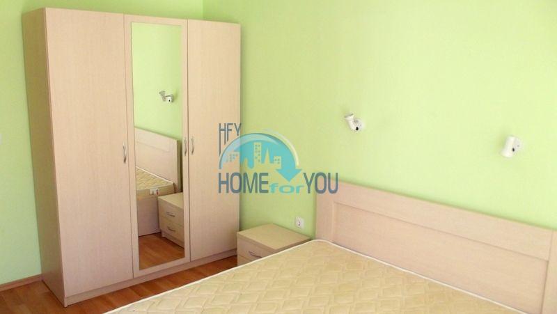 Недорогая двухкомнатная квартира на курорте Солнечный берег 13