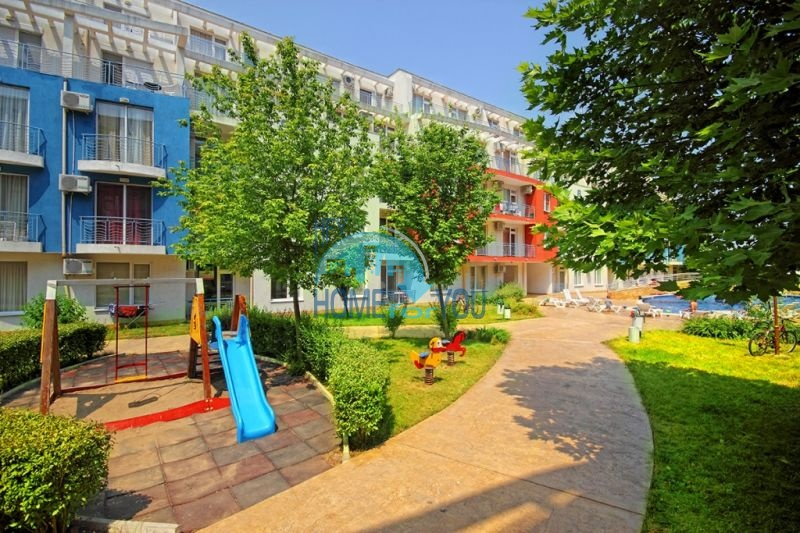 Недорогая двухкомнатная квартира на курорте Солнечный берег