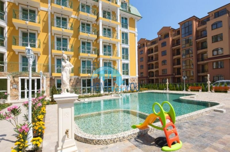 Двухкомнатная меблированная квартира в комплексе Гермес - самая низкая цена в курорте Солнечный берег! 4