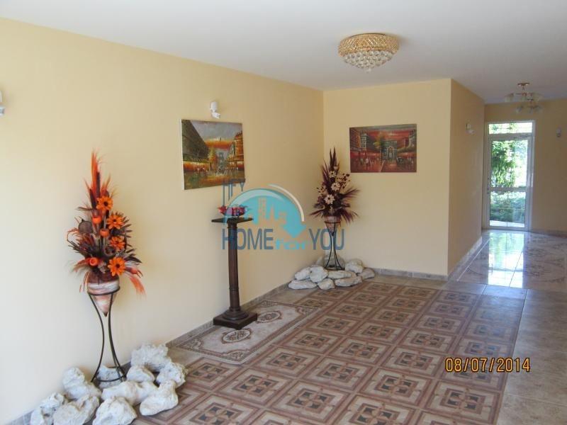 Недорогая студия с мебелью на курорте Солнечный берег 15