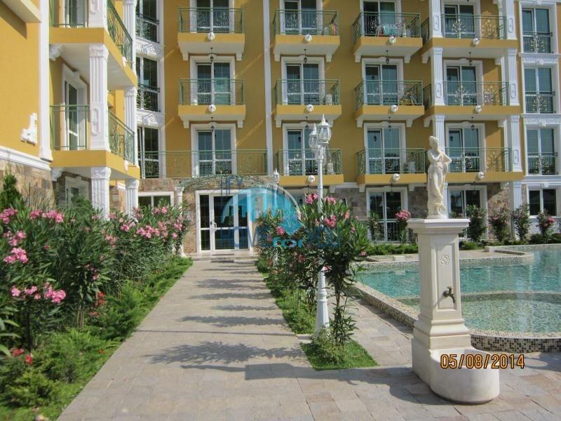 Двухкомнатная меблированная квартира в комплексе Гермес - самая низкая цена в курорте Солнечный берег! 2