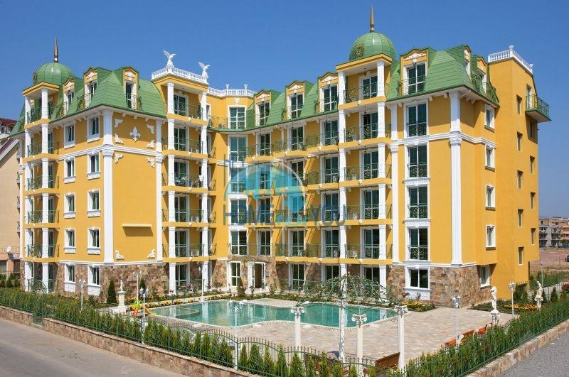 Двухкомнатная меблированная квартира в комплексе Гермес - самая низкая цена в курорте Солнечный берег!