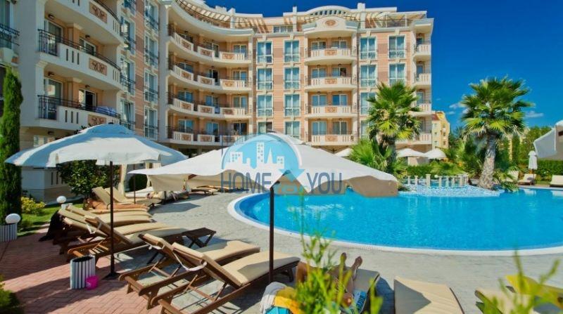 Недорогая уютная двухкомнатная квартира на курорте Солнечный берег