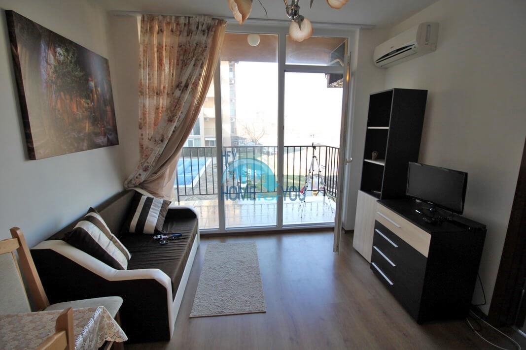 Новая двухкомнатная квартира на курорте Солнечный Берег 2