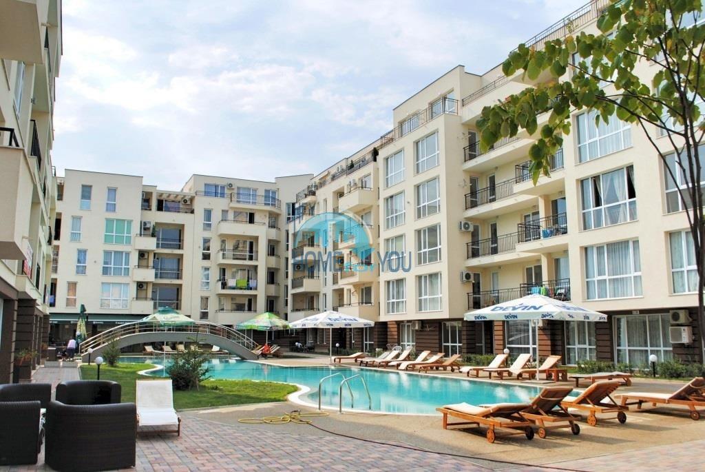 Новая двухкомнатная квартира по доступной цене в центре Солнечного берега