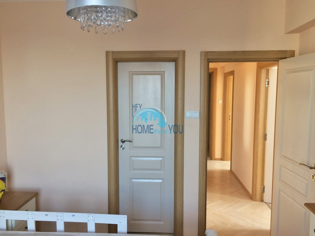 Новая трехкомнатная квартира на курорте Солнечный Берег - вторая береговая линия 21