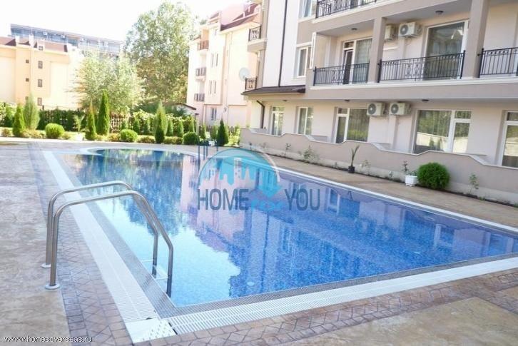 Новая высококачественная квартира с мебелью на Солнечном берегу 9