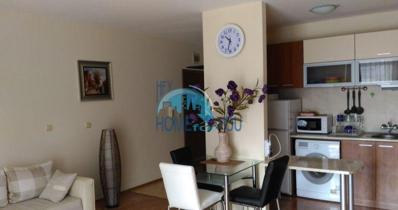 Отличная двухкомнатная квартира на продажу в курорте Солнечный Берег