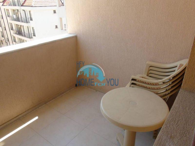 Отличная квартира с двумя спальнями в комплексе на Солнечном берегу 14