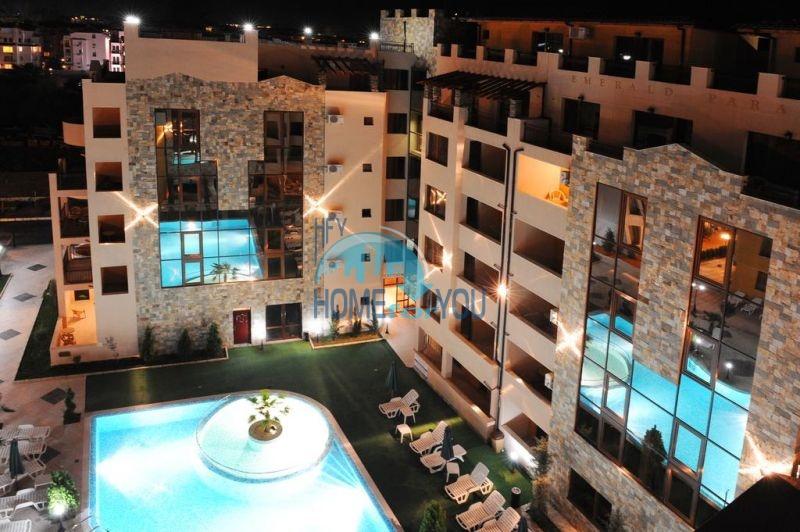 Отличная квартира с двумя спальнями в комплексе на Солнечном берегу 17